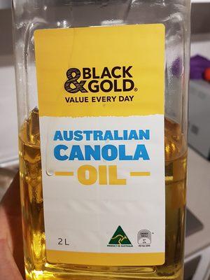 Canola Oil - Product