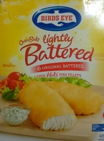 6 Original Batttered Hoki Fish Fillets - Product