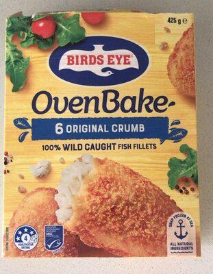 OvenBake 6 Original Crumb Wild Caught Fish Fillets - Prodotto - en