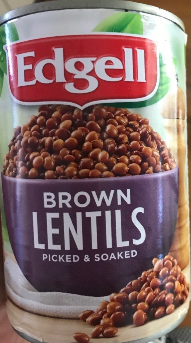 Brown lentils - Product - en