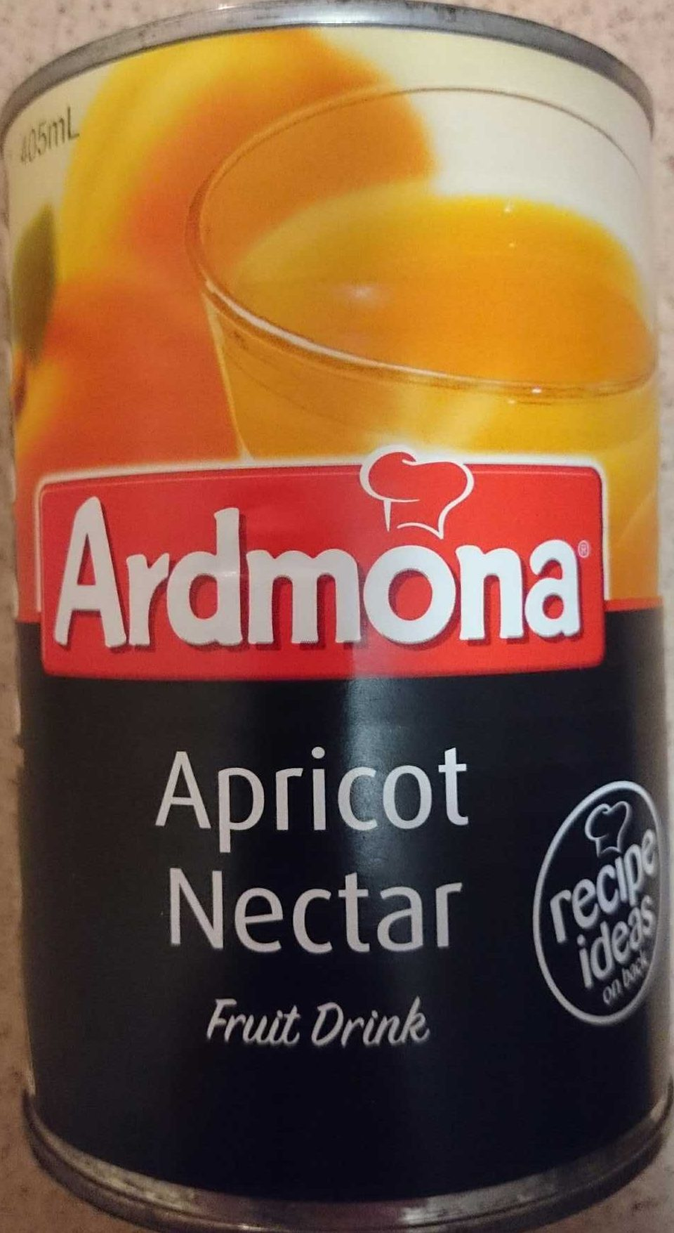 Apricot Nectar Fruit Drink - Product - en