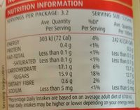 Apricot Nectar Fruit Drink - Nutrition facts - en