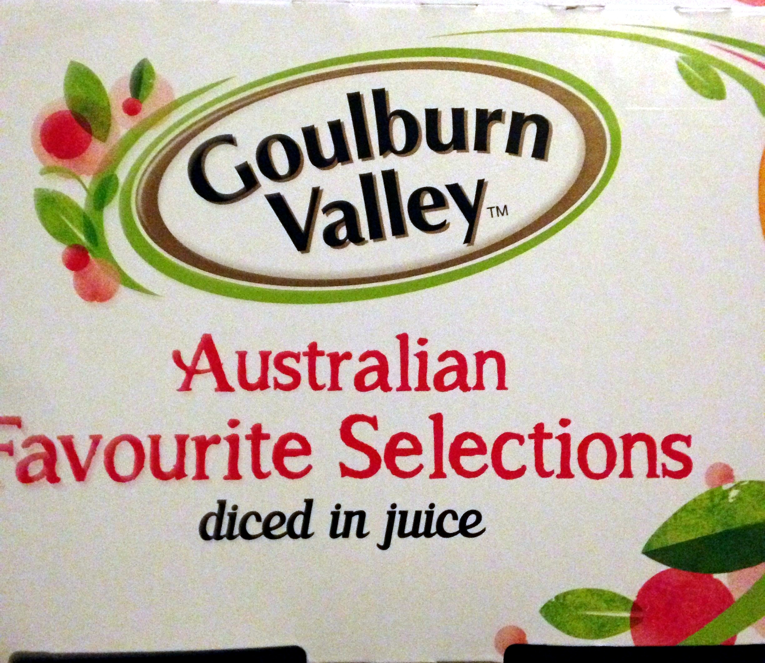 Australian favourite selections diced in juice - Product - en