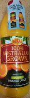 Orange Juice Pulpy - Product
