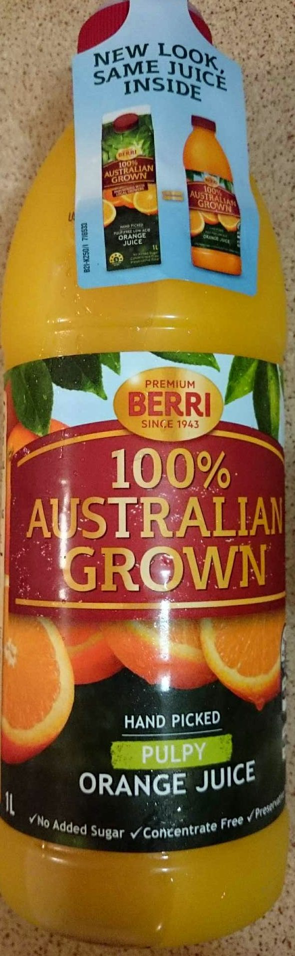 Orange Juice Pulpy - Product - en