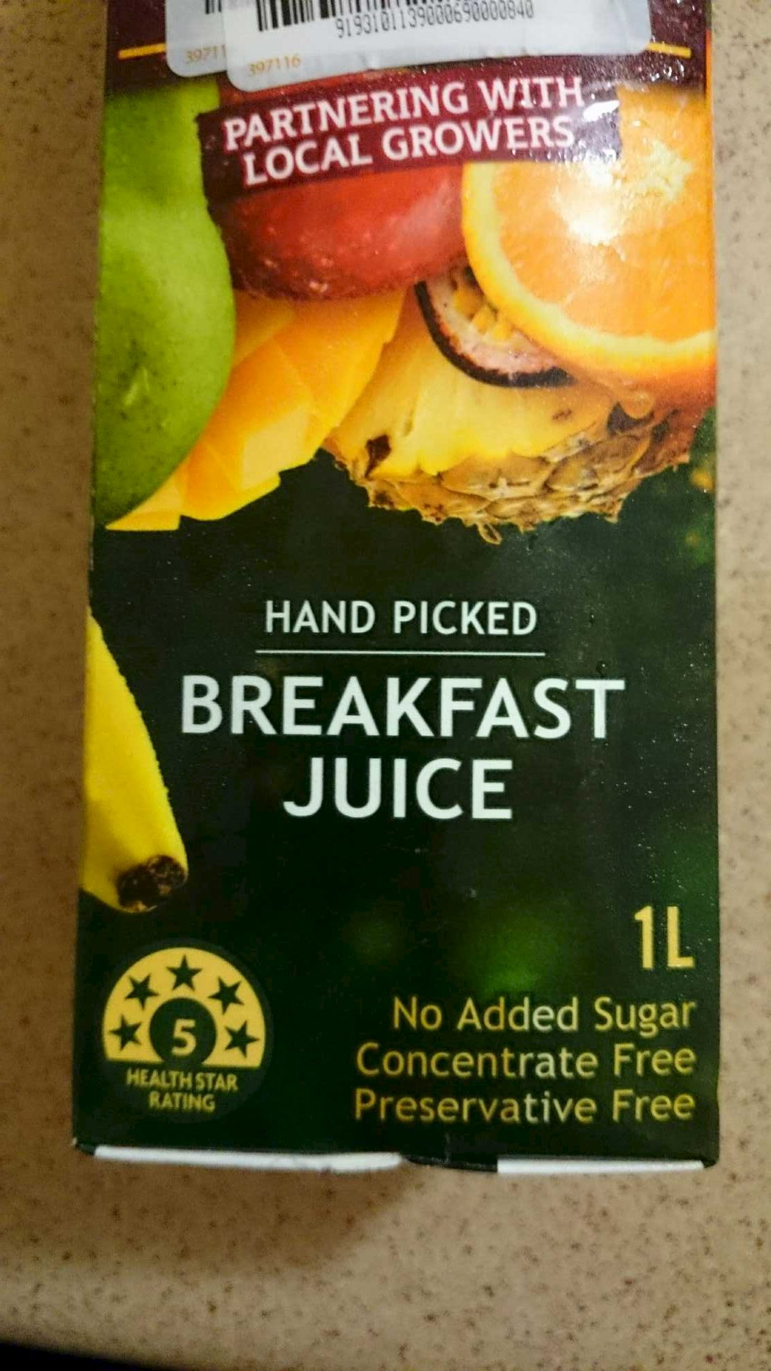 Breakfast Juice - Product - en