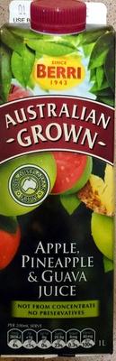 Apple, Pineapple & Guava Juice - Product - en