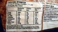 Helgas Light Rye - Nutrition facts - en