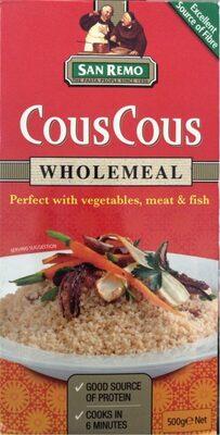Couscous wholemeal - Product - en