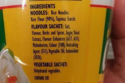 fantastic noodles chicken - Ingredients - en