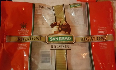 San Remo Rigatoni - Product