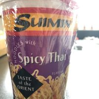 Noodles with spicy Thai - Product - en