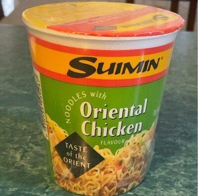 Oriental chicken noodles - Product - en