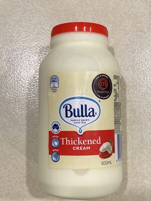 Thickened Cream - Product - en