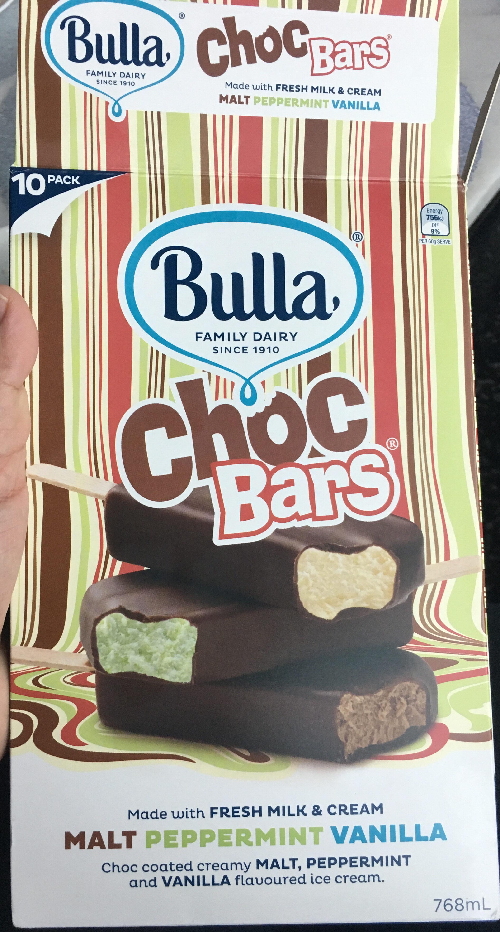 Choc Bars - Product - en