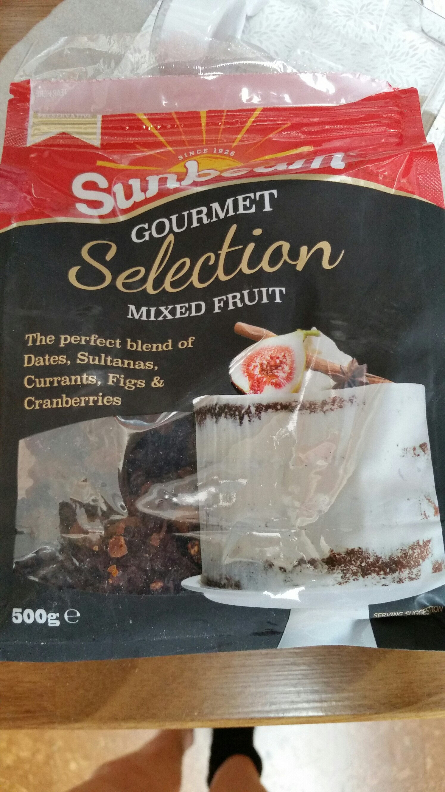 sunbeam gourmet selection mixed fruit - Product - en
