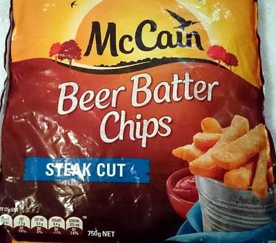 Beer Batter Chips - Steak Cut - Product