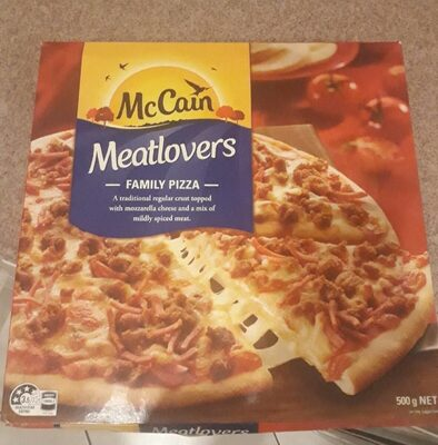 Meatlovers Pizza - Produit - en
