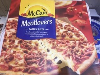 Meatlovers Pizza - Ingrédients - en
