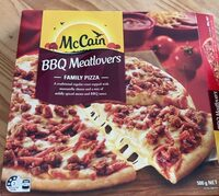 BBQ Meatlovers Family Pizza - Product - en
