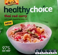 Healthy Choice Thai Red Curry - Product - en