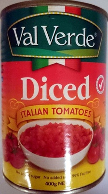Diced Italian Tomatoes - Product