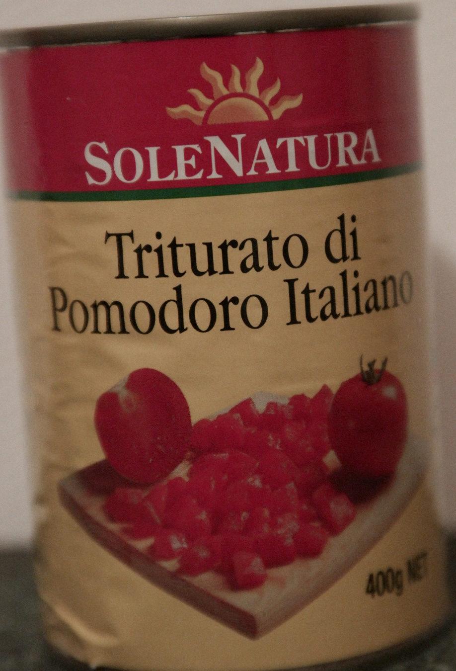 SoleNatura Triturato di Pomodoro Italiano - Product - en