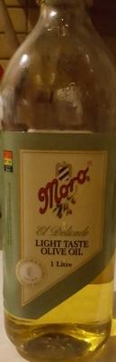 Moro Light Taste Olive Oil - Product