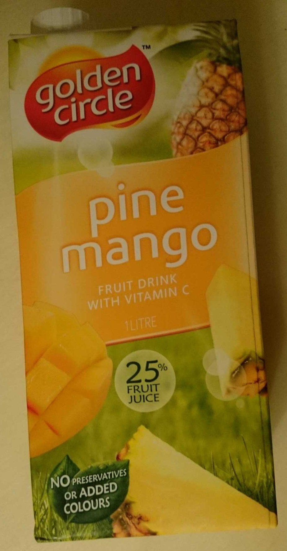 Pine Mango Fruit Drink With Vitamin C - Product - en