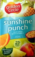 Sunshine Punch Fruit Drink with Vitamin C - Product - en