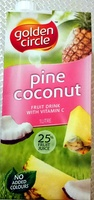 Golden Circle Pine Coconut - 1L - Product