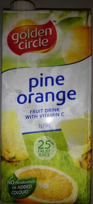 Pine Orange Fruit Drink with Vitamin C - Product