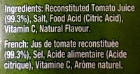Tomato juive - Ingredients - en