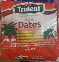 Trident Pitted Dates - Produit