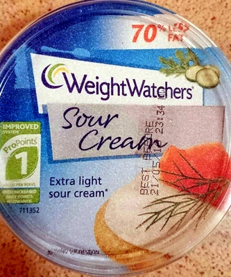 Sour Cream Extra Light - Product - en