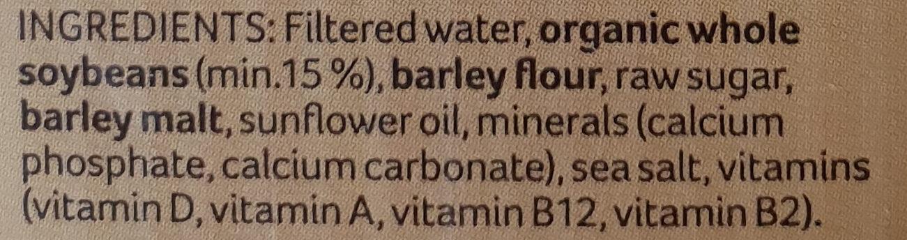 Calci-Plus Australian grown whole organic soybeans - Ingredients - en