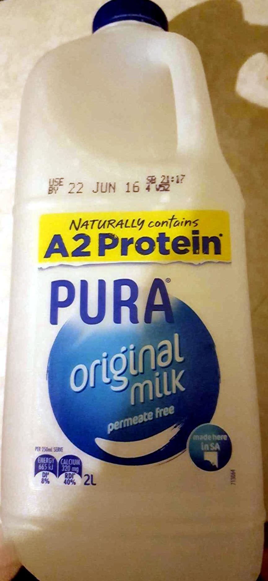Pura Original Milk - Product