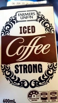 Iced Coffee Strong - Produit - en
