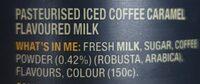 dare ice coffee caramel - Ingredients - en