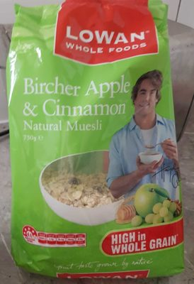 Bircher Apple & Cinnamon Natural Muesli - Product