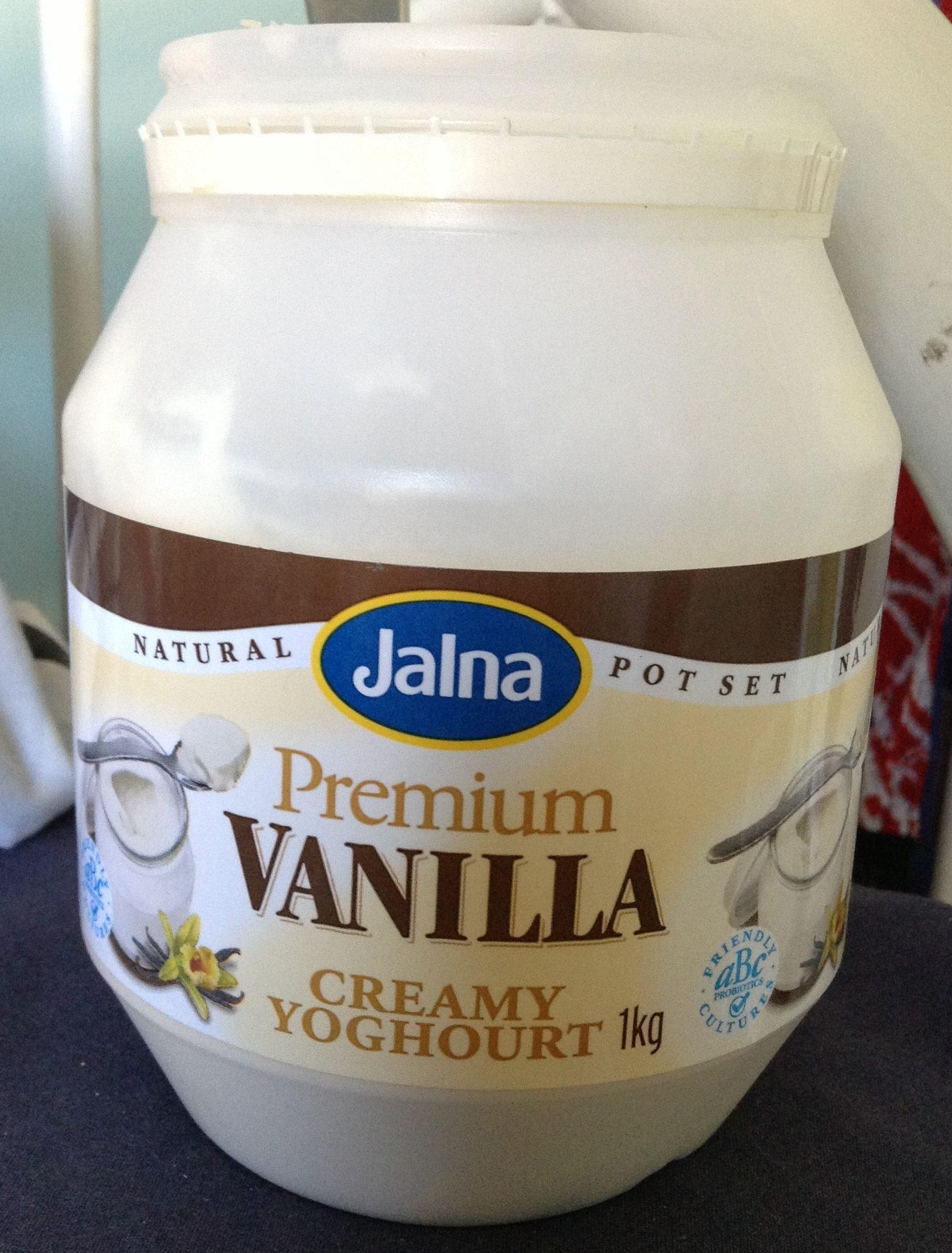 Premium vanilla creamy yoghurt - Product