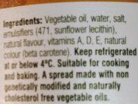 nuttelex butter - Ingredients - en
