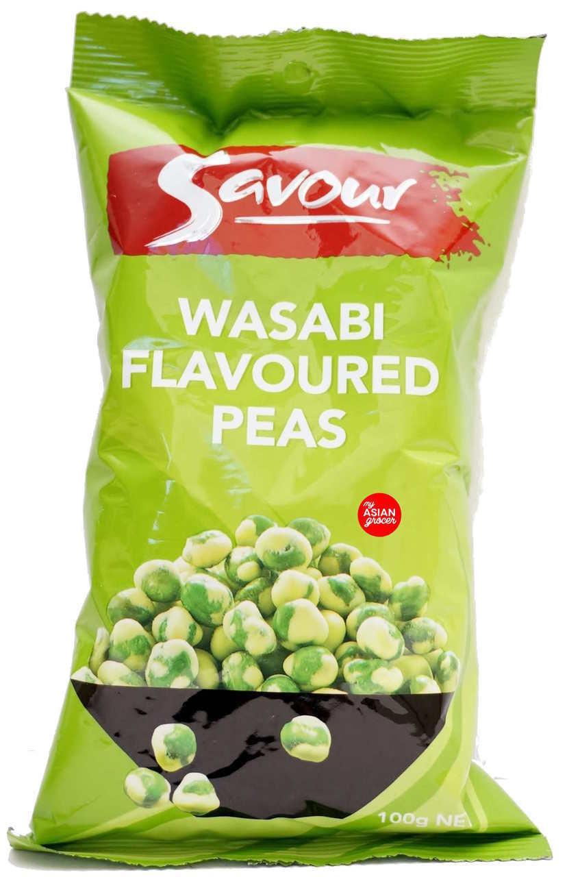 Savour Wasabi Flavoured Peas 100g - Product - en