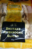 Dried Shitake Mushrooms Sliced - Produit