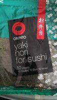 Yaki nori for sushi - Product - fr