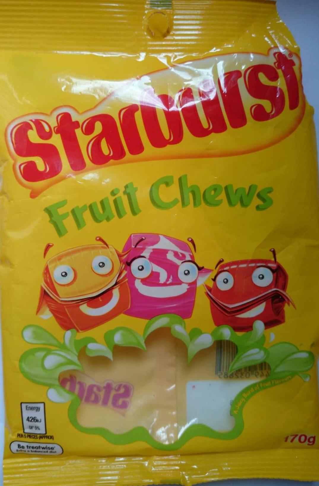 Starburst Fruit Chews - Product - en