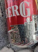 bundy rum and creaming soda - Ingredients - en