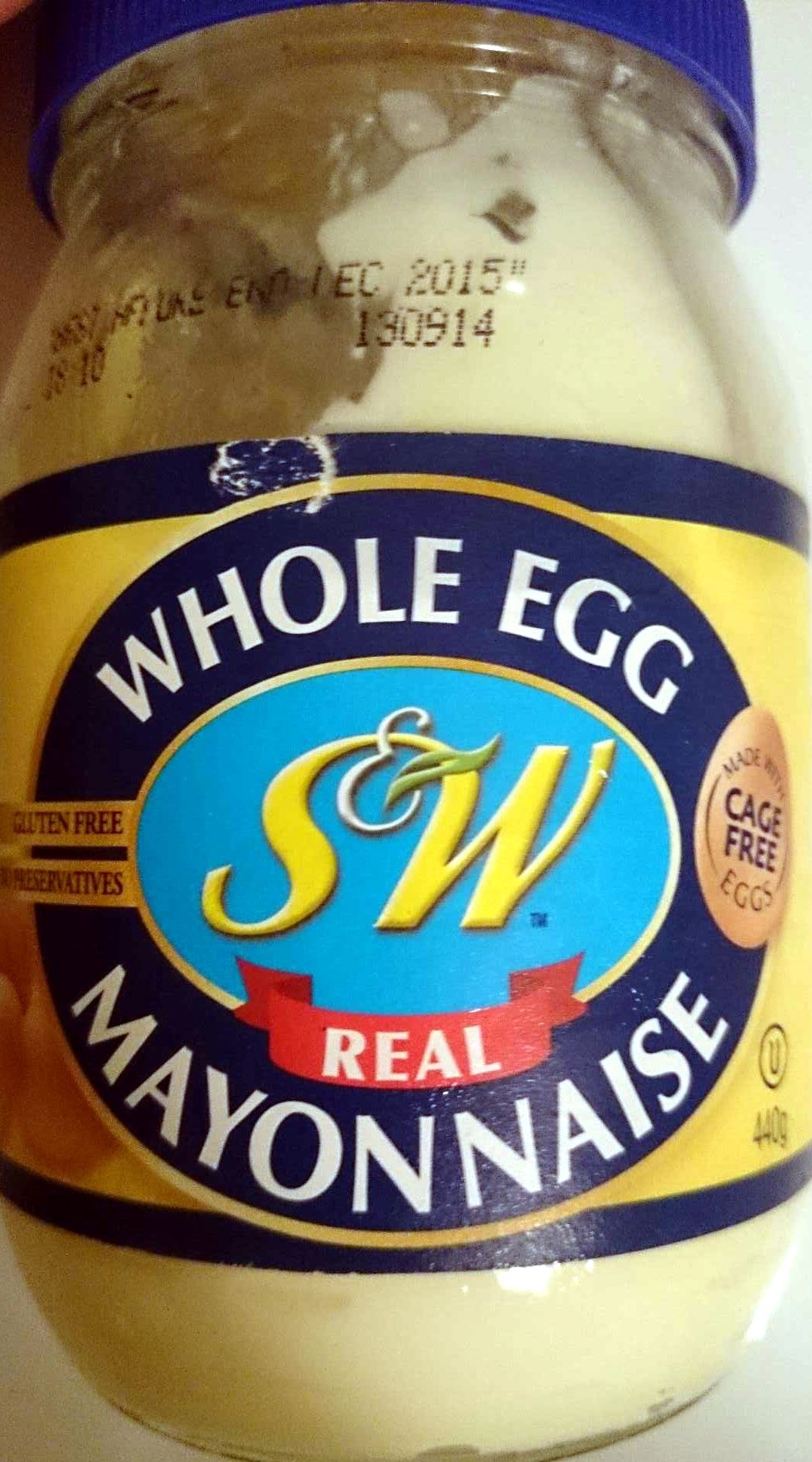 Whole Egg Real Mayonaise - Product