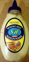 Whole Egg Real Mayonaise Squeezable - Product - en