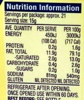 Whole Egg Real Mayonaise Squeezable - Nutrition facts - en